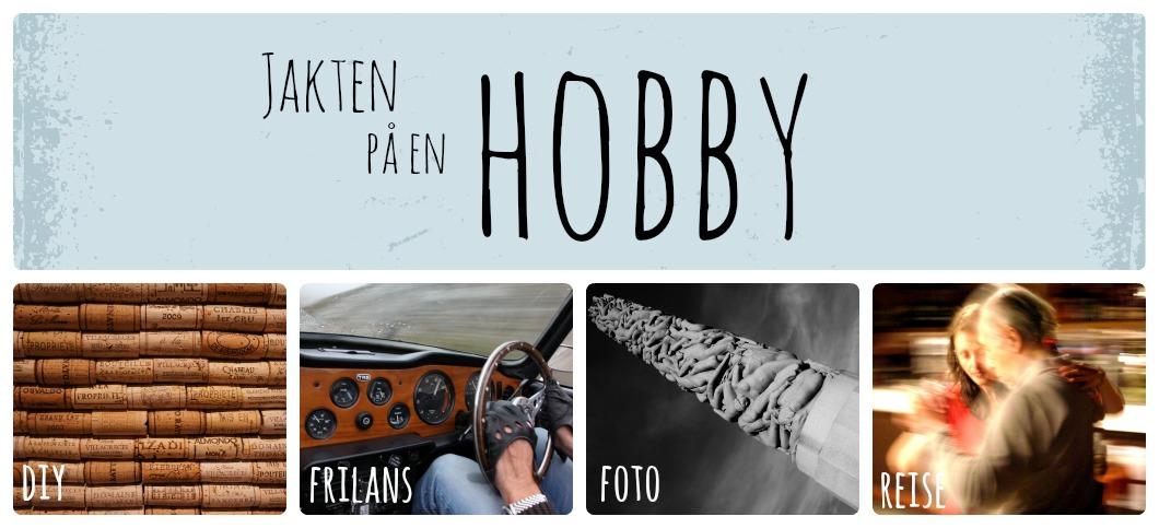 Jakten på en hobby