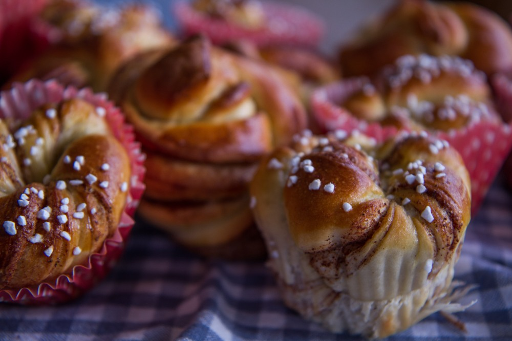 kanelsnurrer i muffinsform